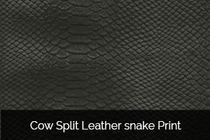 Cow-Split-Leather-snake-Print